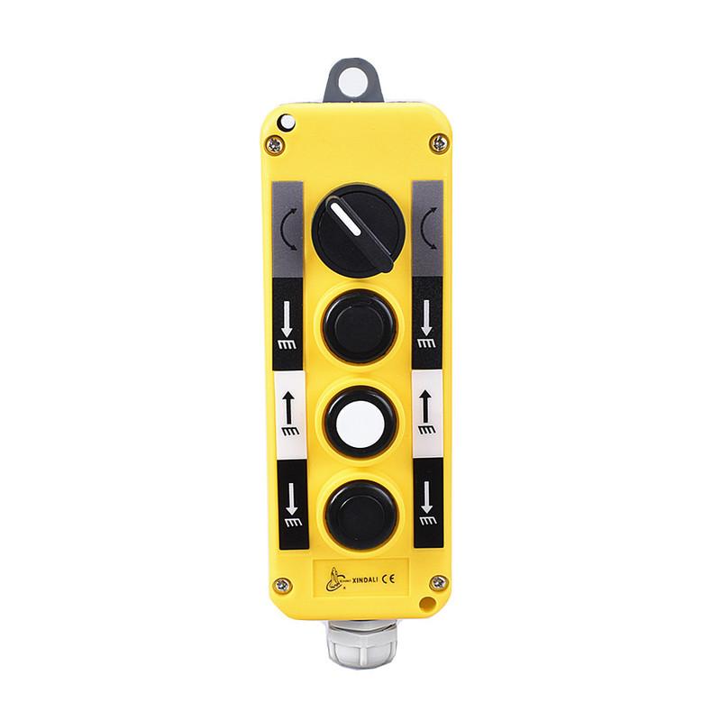 4 holes plastic key control box for electronic electrical control box XDL10-EPBD4