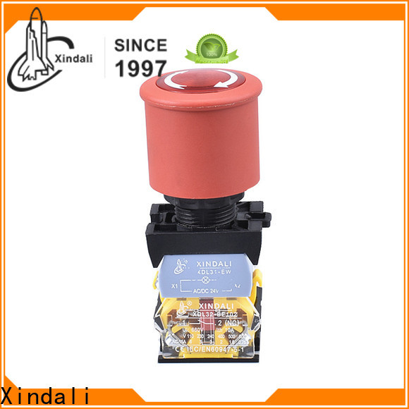 Xindali push button switch price for mechanical device
