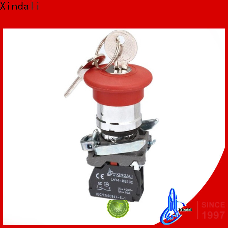 Xindali Best industrial push button for controlling signal and interlocking purposes