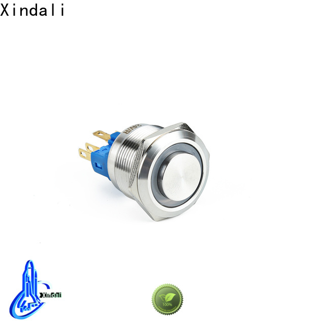 Xindali Custom made push button switch factory price for mechanical equipment