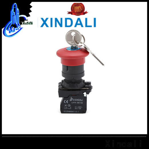 Xindali button switch for sale for controlling signal and interlocking purposes