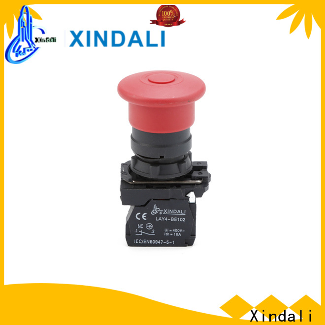 Xindali industrial push button suppliers for controlling signal and interlocking purposes
