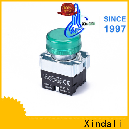 Xindali Quality push button switch price for mechanical equipment