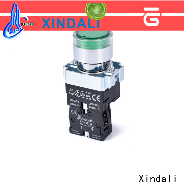 Xindali momentary push button switch for sale for horne button switch