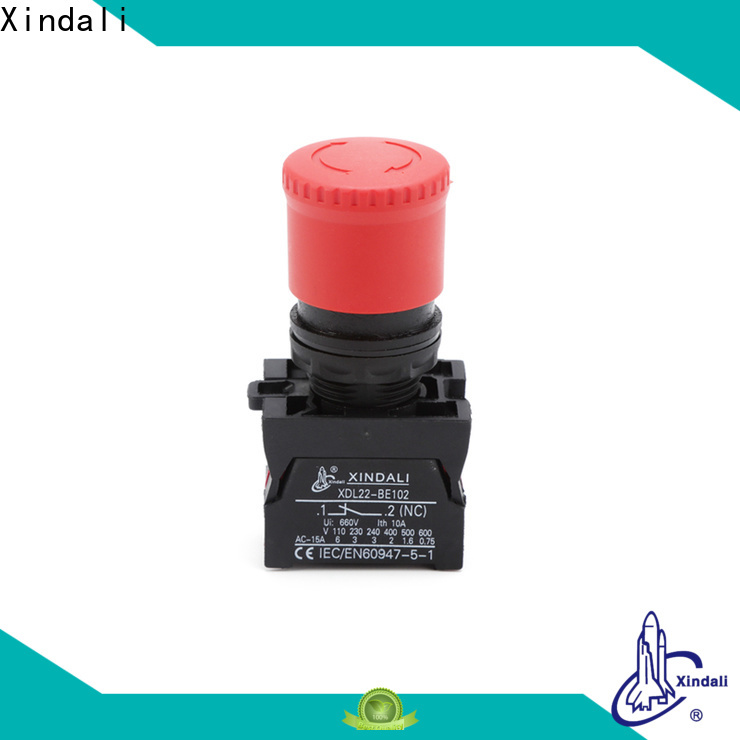 Xindali Professional push button switch supply for mechanical device