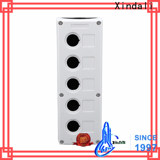Xindali push button control box manufacturers for electric appliances