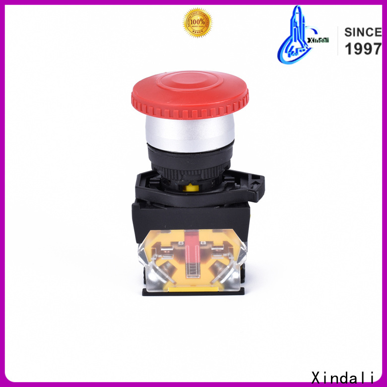 Xindali industrial push button company for mechanical device