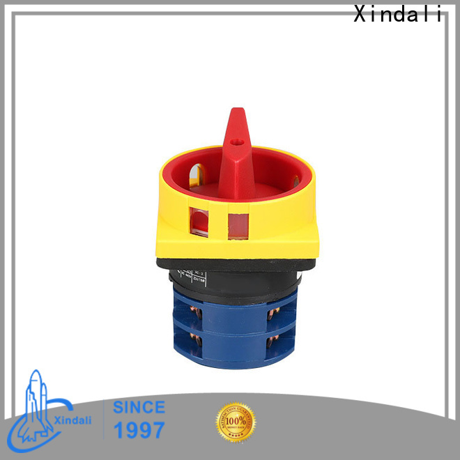 Xindali 5 position rotary switch manufacturers for electric equipment