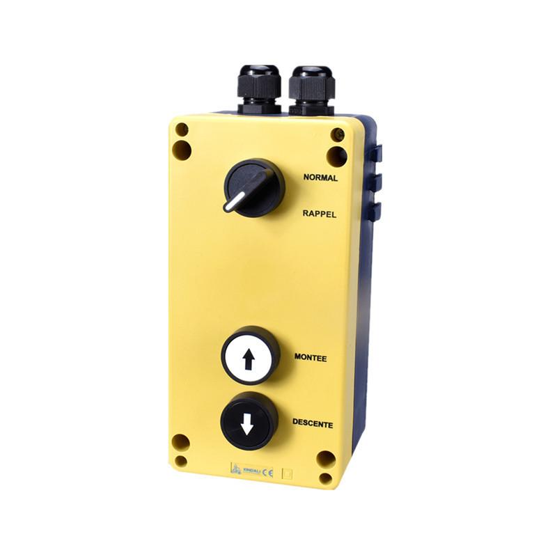 remote control station box 3 push button 3 hole control station XDL95-JB365P