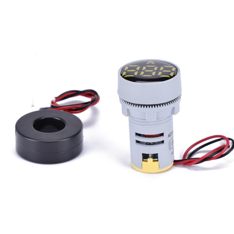 display led voltage LED indicator light with voltage meter AD22-22DSA