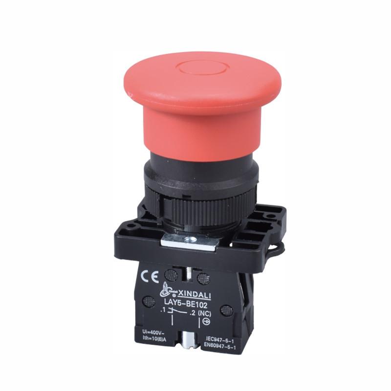 XB2 Switch Switch Stop Emergency Lay5 Pulsador de emergencia Lay5-ET42