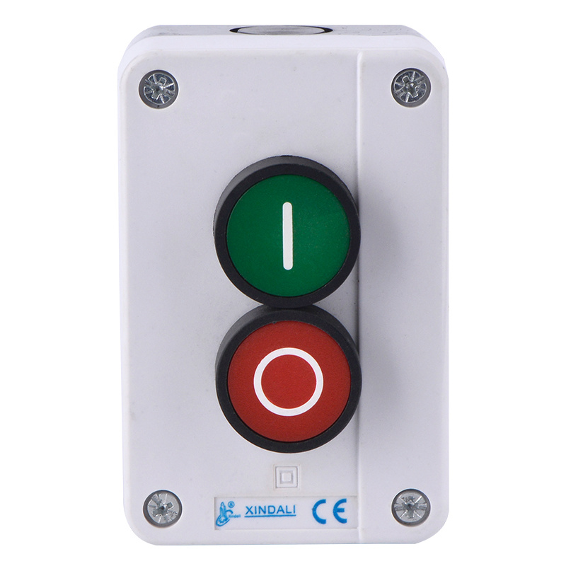 2 switch on off electric hoist push button control box XDL55-B213