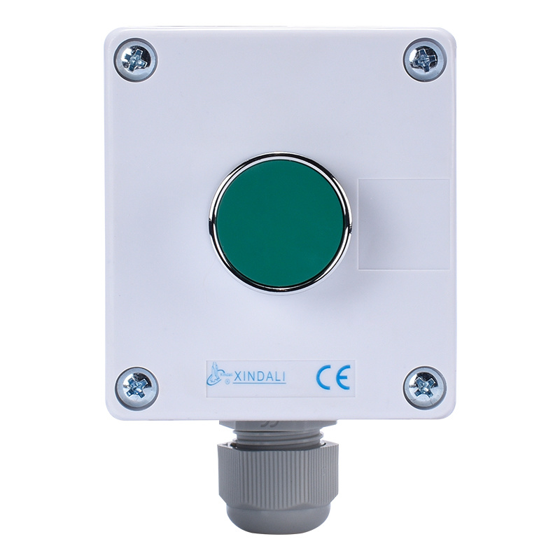 metal push button control station hoist flush button switch control box XDL55-BB101P