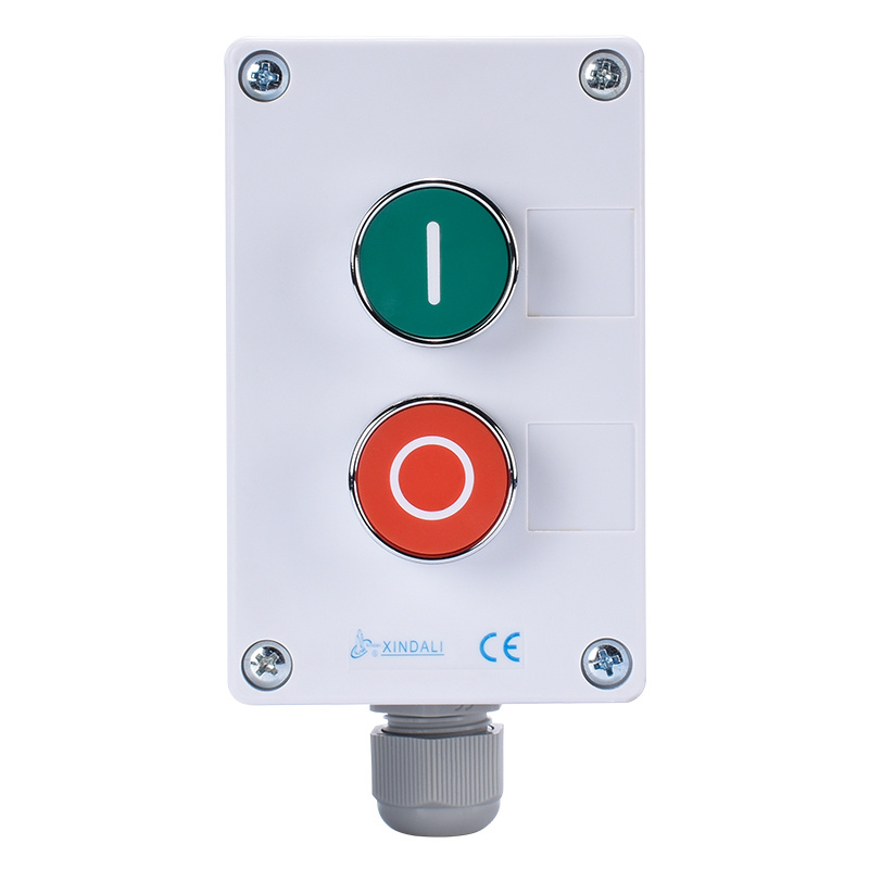 Waterproof Push Button Switch Control Station Box & Enclosures XDL55-BB213P