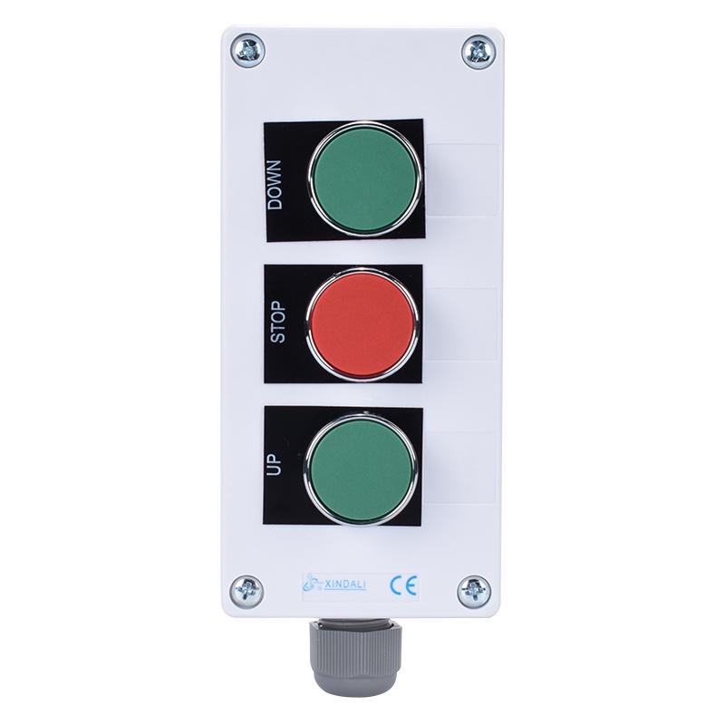 3 Holes XAL Series Pushbutton Controlling Switch Box XDL55-BB321PH29