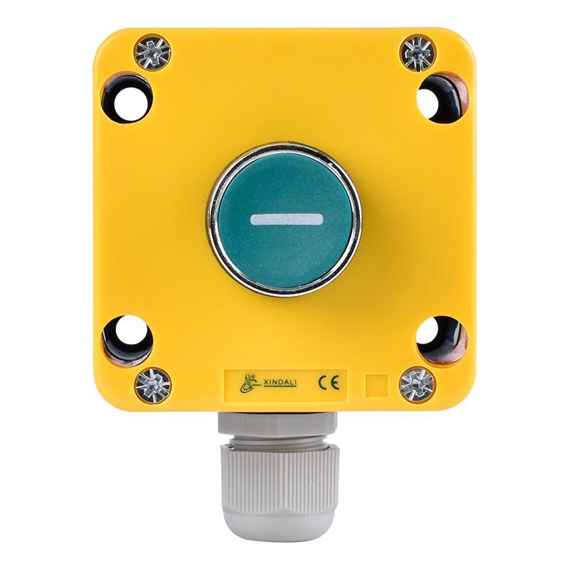 Waterproof Flush Logo Remote Control Push Button Switch Box XDL721-JB102P