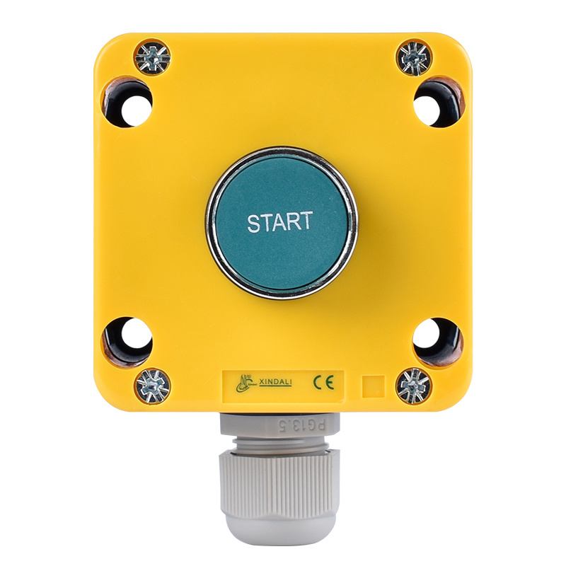 waterproof flush start logo remote control push button switch box XDL721-JB103P