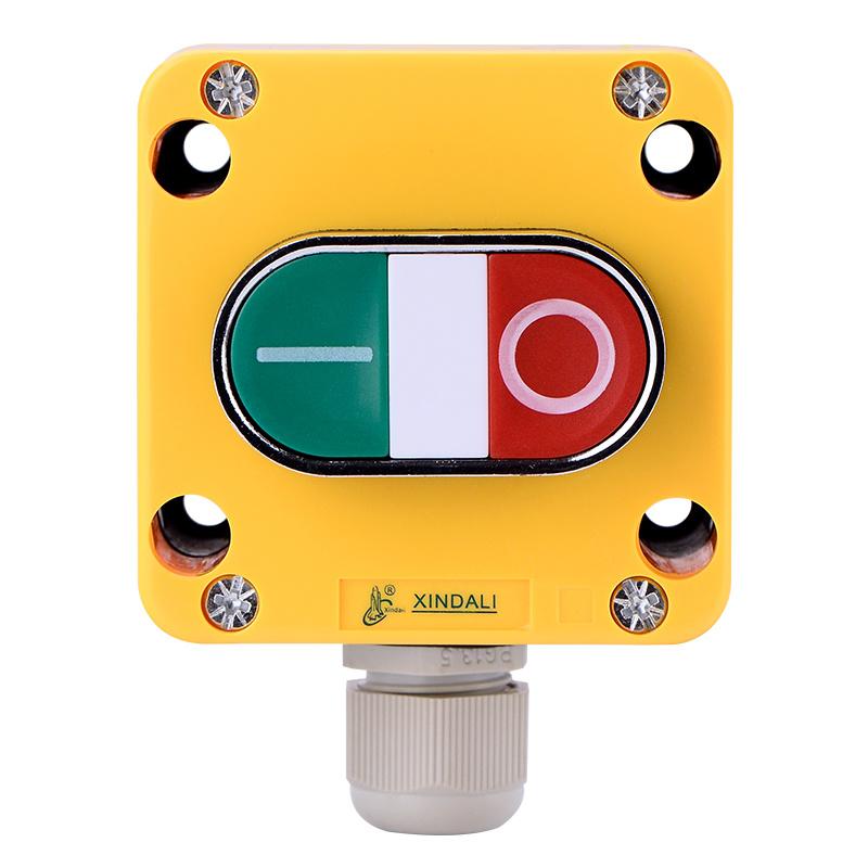 1 hole crane control electric box switch push button box XDL721-JB195P