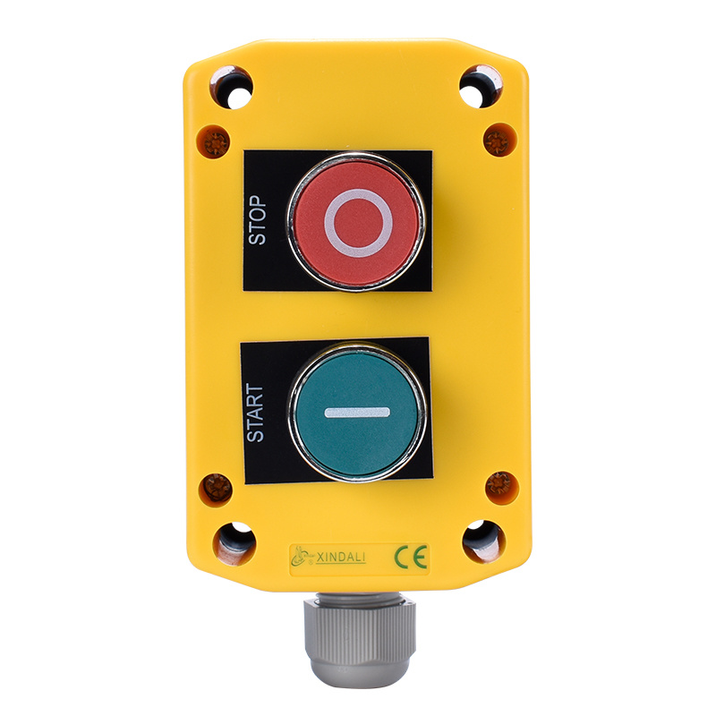 waterproof 2 button lifting industrial elevator inspection box XDL721-JB213PH29