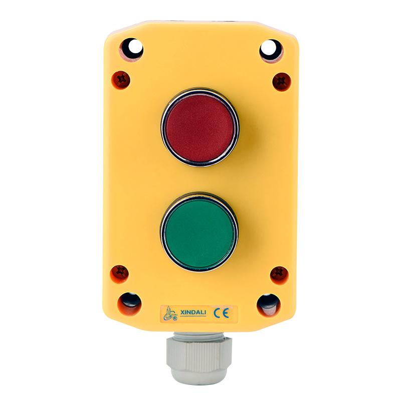 2 holes push button box weatherproof electrical box XDL721-JB241P