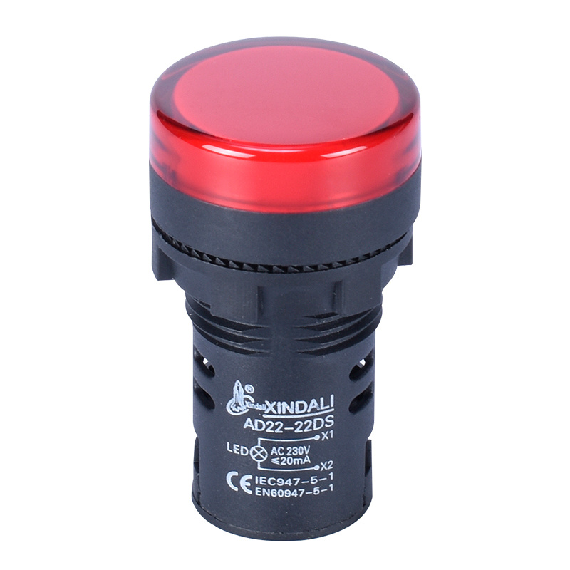 high quality industrial Led indicator light indicator lamp 22MM AD22-22DS